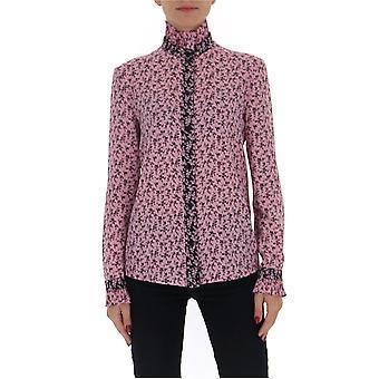 Filosofia Por Lorenzo Serafini 02240750a5246 Women's Pink Cotton Shirt