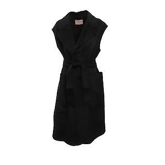 Twin-set 192tp231000006 Women's Black Wool Vest