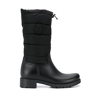 Moncler 202430001am9999 Women's Black Polyester Boots