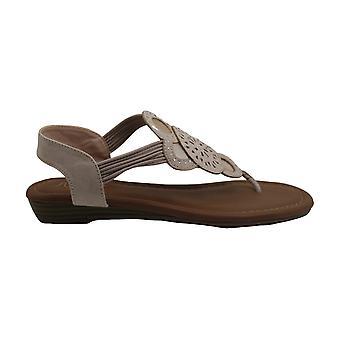 Sugar Womens Camey Split Toe Casual Slingback Sandals