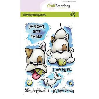 CraftEmotions Clear Stamps A6 - Odey & Vrienden 1 Carla Creaties