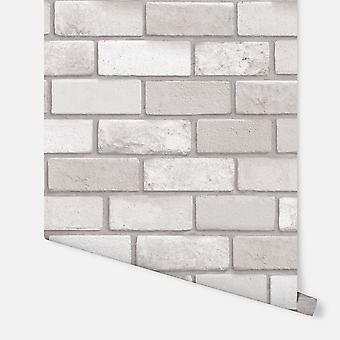 669402-Diamond taupe Brick-Arthouse bakgrunn