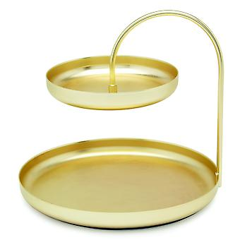 Umbra Poise Large Accessory Tray Brass