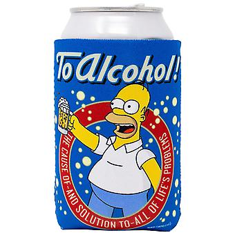 The Simpsons Homer til alkohol øl kan hugger