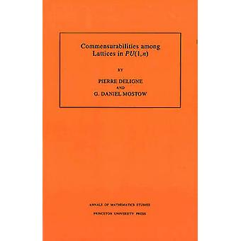 Commensurabilities among Lattices in PU (1 -n). (AM-132) - Volume 132