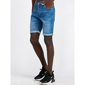 Kings Will Dream Notre Clean Denim Short Mid Wash