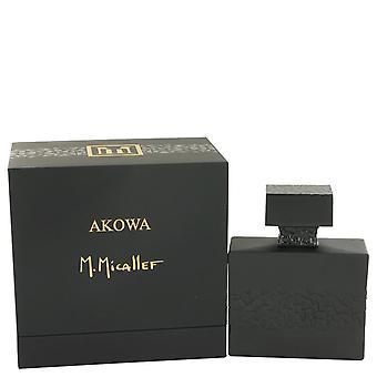 Akowa Eau De Parfum Spray By M. Micallef 3.3 oz Eau De Parfum Spray