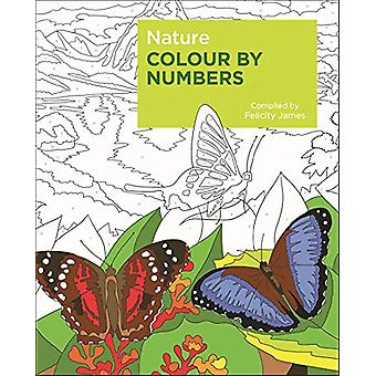 Nature Colour by Numbers by Felicity James - 9781789500523 Book