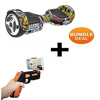 6.5-quot; G PRO Hip Hop Bluetooth Segway Hoverboard avec AR Gun