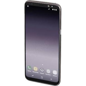 Hama Ultra Slim Back Abdeckung Samsung Galaxy S9 Schwarz (transparent)