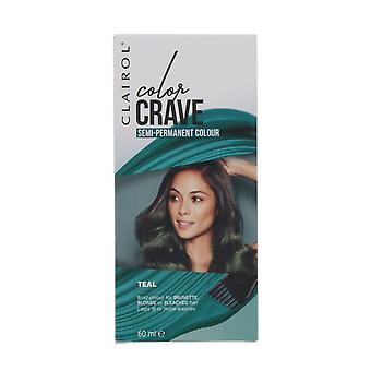 Clairol Color Crave 60ml Semi Permanent Hair Colour Teal