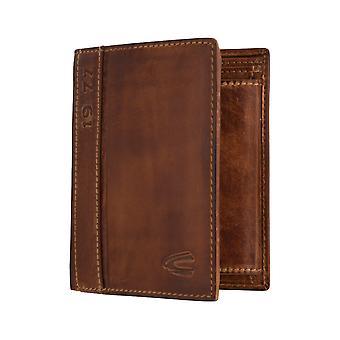 Sac à main camel active mens wallet portefeuille brun 6340