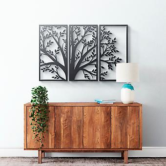 Arte da parede do metal - #3 de árvore
