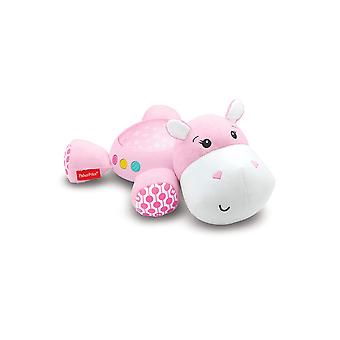 Fisher Pris Pink Hippo Plys Projektion Soother