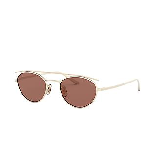 Oliver Peoples Hightree OV1258ST 5035C5 Gold/Burgundy Sunglasses