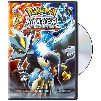 Pokemon the Movie 15: Kyurem vs. the Sword of Just [DVD] USA import