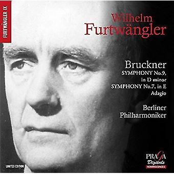 Bruckner / Furtwangler, Wilhelm - Symphony No. 9 / Symphony No. 7 - Adagio [SACD] USA import