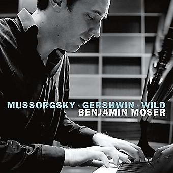 Benjamin Moser Plays [CD] USA import