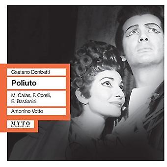 Donizetti / Corelli / Bastianini / Callas / Vatto - Poliuto [CD] USA import