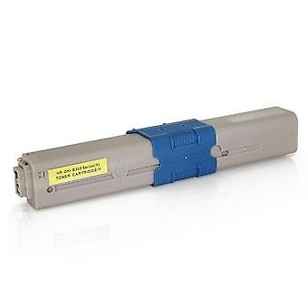 RudyTwos Replacement for Oki 44469704 Toner Cartridge Yellow Compatible with C310dn, C312dn, C330, C331dn, MC351, MC352dn, MC362dn, MC361, C510dn, C511dn, C530, C531dn, MC561 and MC562dn