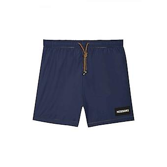 MISSONI Mare Navy Swim Shorts