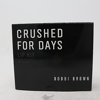 Bobbi Brown triturado para el día labio kit / nuevo con la caja