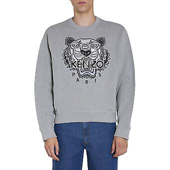 Kenzo Fa65sw1114xv94 Men's Grey Cotton Sweatshirt