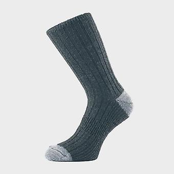 1000 Mile Men's Lightweight Walking Socks Charcoal