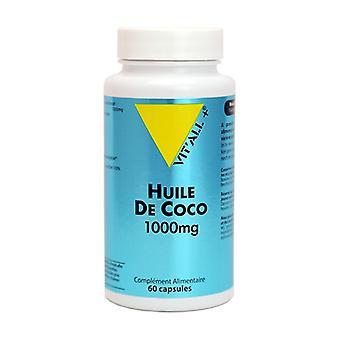Kookosöljy 1000 mg 60 kapselia 1000mg