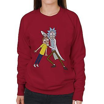Rick og Morty ser Morty kvinder ' s sweatshirt