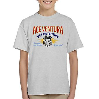 Ace Ventura Pet Detective Logo Kid's T-Shirt