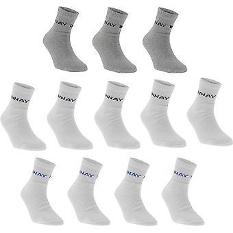 Donnay Quarter Socks 12 Pack Junior