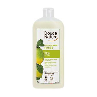 Lemon Shower Gel Shampoo 1 L