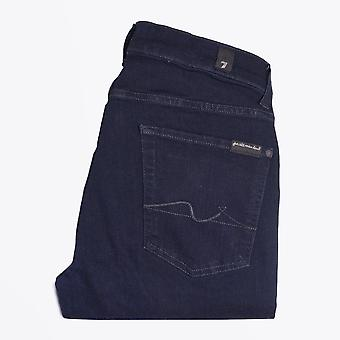 7 For All Mankind  - Slimmy Tapered Luxe Performance Jeans - Dark Blue