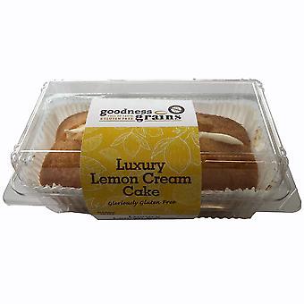 Goodness Grains Frozen Gluten Free Lemon Cream Cake