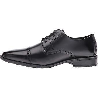STACY ADAMS Men-apos;s Abbott Slip Resistant Cap Toe Oxford