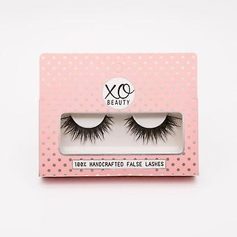 xoBeauty False Lashes - The Sinner - Dramatic Ultra Curled & Winged Out