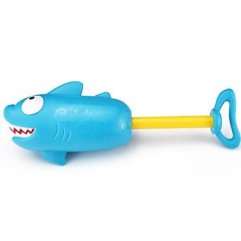 Summer Crocodile Shark Water Gun Game Outdoor Swimming Toys- Pumping Lightweight Portable Spray