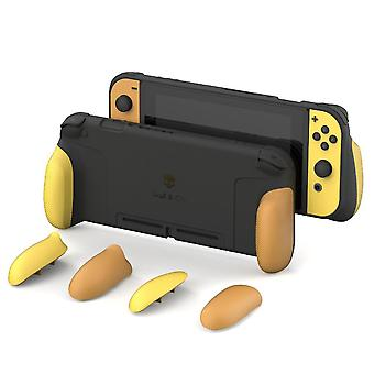 Nintendo Switch Gripcase - Protective Cover Shell With Replaceable Grips