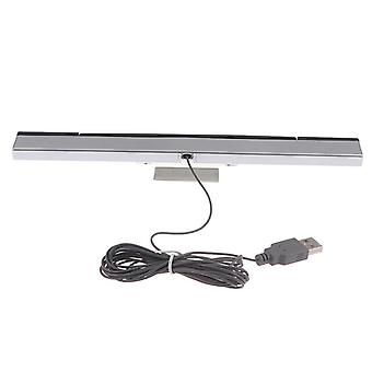 Wii Sensor Bar Wired Receivers - Ir Signal Ray Usb Plug