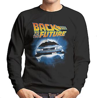 Back to the Future Delorean Time Traveling Men's Sweatshirt