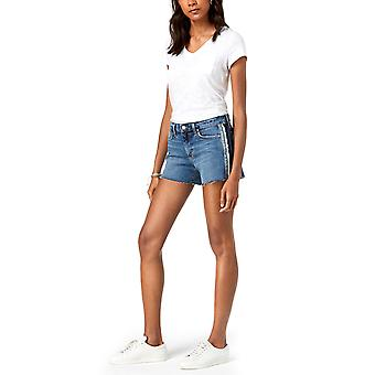 Joe's | Ozzie Side Stripe Cutoff Shorts
