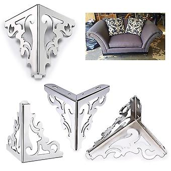 4pcs/set Metal Polished Sofa /chair Legs  Part-modern Hollow Patten
