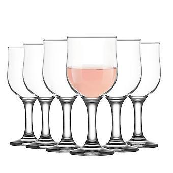 LAV Nevakar Gafas de Vino de Cáliz Grande - 355ml - Pack de 6 Goblets Stemware