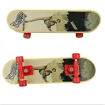 1/2pcs Mini Fingerboard Skate Boarding Toy For Kids