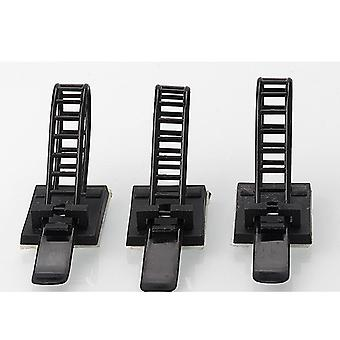 10pcs Of Adjustable Cable Tie Mounts
