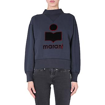 Isabel Marant ÉToile Sw003320a054e02fk Women's Black Cotton Sweatshirt