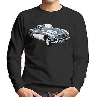 Austin Healey 100 Six British Motor Heritage Men's Sweatshirt