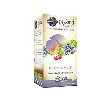 Garden of Life mykind Organics Prenatal Multi, Organic Berry 120 Chews