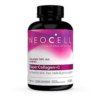Neocell Laboratories Super Collagen Plus C, 120 Tabs